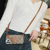 Luxury iPhone case messenger Bag with st...